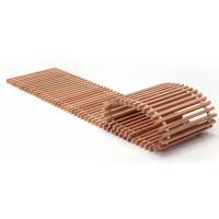 Решетка iTermic SGWZ 400.800 деревянная поперечная